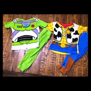 Buzz and woody pjs